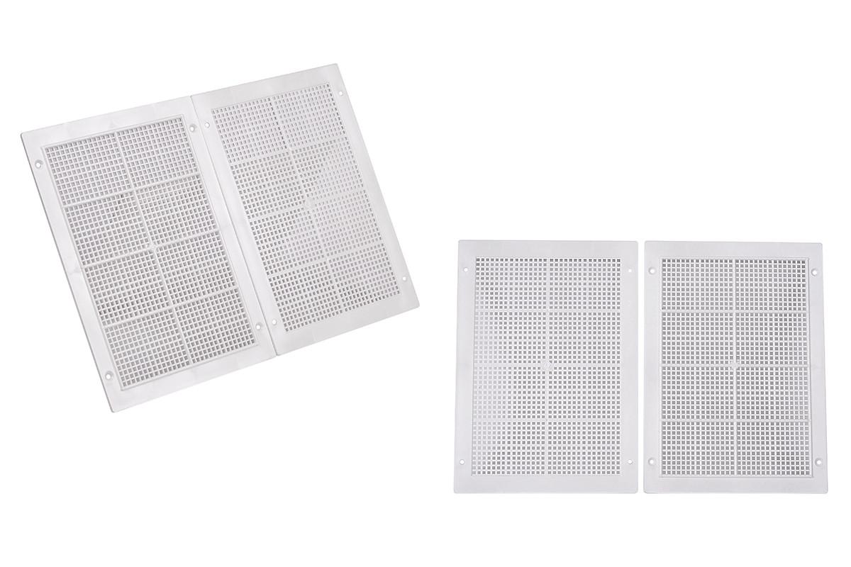 Вентиляционная решетка (длина - 238 мм, ширина -170 мм, толщина - 5 мм)