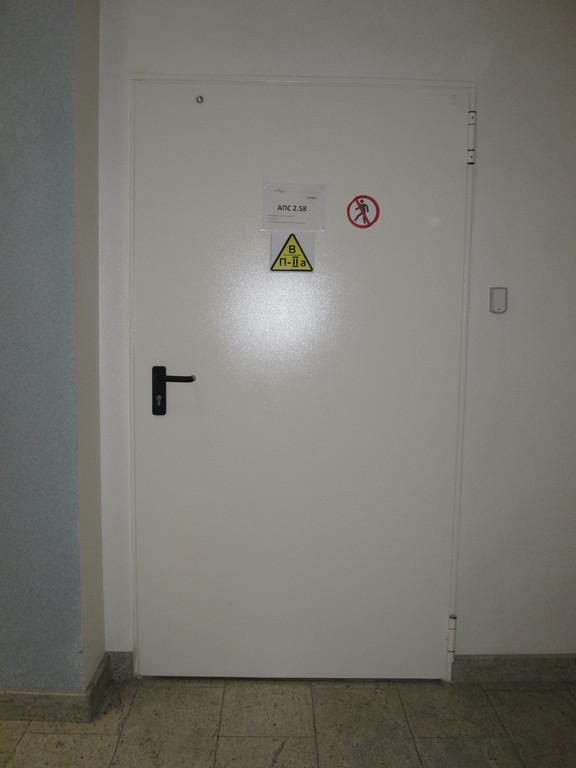 Монтаж противопожарных дверей