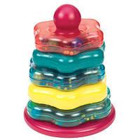Развивающая игрушка Цветная пирамидка