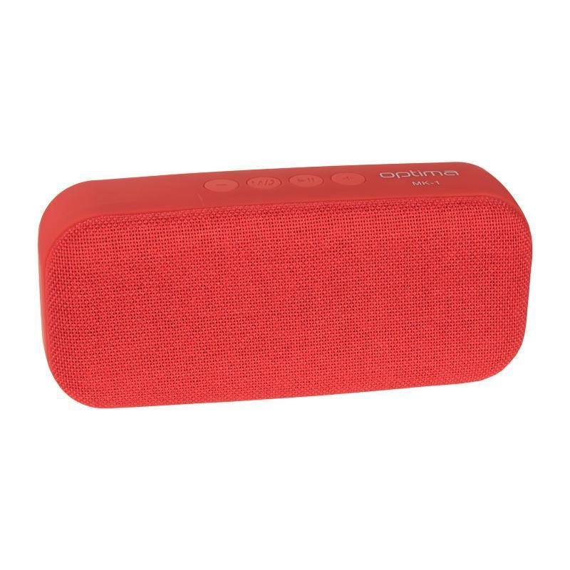 Bluetooth колонка Optima MK-1 Infinity Red