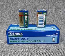 Батарейки Toshiba крона 9V