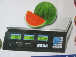Весы торговые 40 кг со счетчиком цены