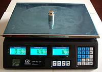 Весы торговые 40 кг со счетчиком цены, фото 2