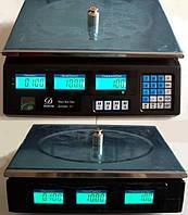Весы торговые 40 кг со счетчиком цены, фото 5