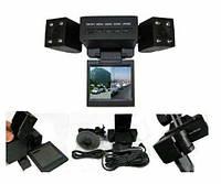 Видео регистратор автомобильный DVR H3000 2 камеры, фото 2