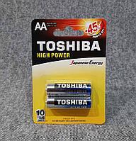 Батарейки Toshiba Alkaline AA