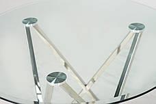 Стіл Т-316 (прозорий) D=800, фото 2