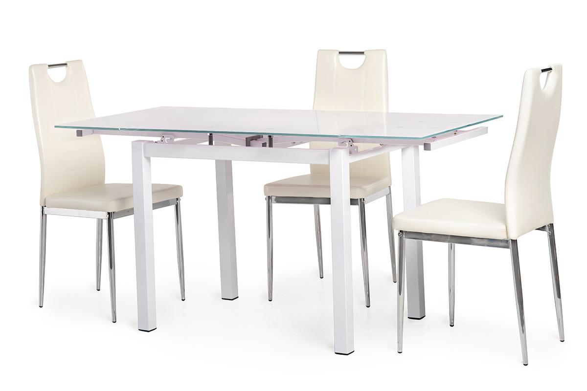 Стол Т-231-8 (Белый) 900(+600)*700
