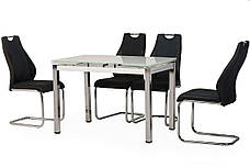 Стол Т-231 (Белый) 1100(+600)*740, фото 2