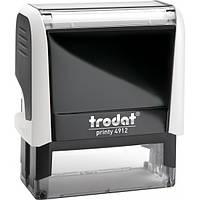 Оснастка для штампа пластиковая прямоугольная Trodat Printy 4912 47х18 мм белая