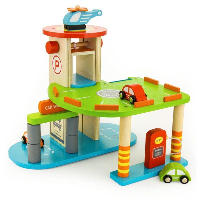 """Игровой набор """"Гараж"""" Viga Toys 59963"""