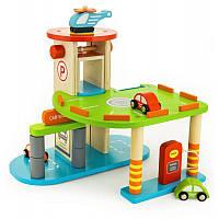 """Игровой набор """"Гараж"""" Viga Toys 59963, фото 1"""