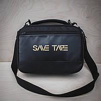 Органайзер, девайс для кинезио тейпов, сумка для тейпов, Save Tape Box 32*23*9см, черный, Украина