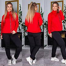 """Спортивный женский костюм дайвинг """"Eline"""" с карманами (большие размеры), фото 2"""