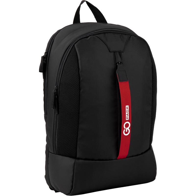 Купить Рюкзак GoPack CITY GO20-151L черный (44638)., KITE