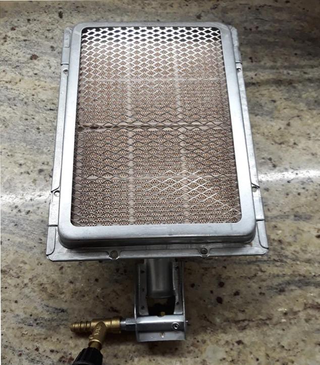 Горелка газовая для обогрева помещений до 20 кв.м. 3 кВт