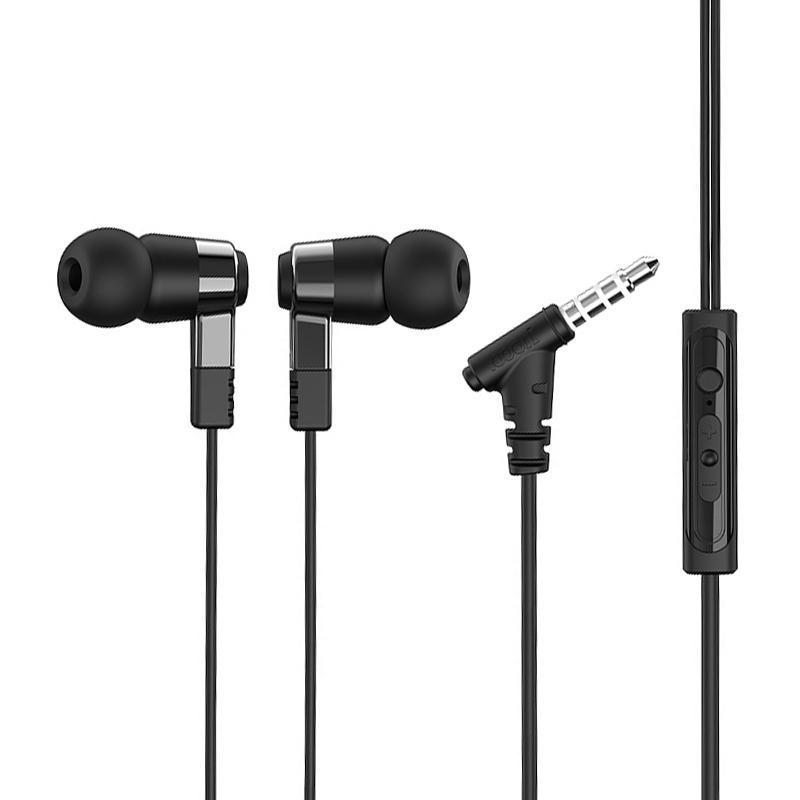 Наушники Hoco M52 Black + mic + button call answering + volume control