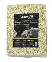 Cоевый наполнитель AnimAll Tofu 2.6 кг Тофу без аромата комкующийся