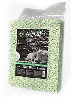 Cоевый наполнитель AnimAll Tofu 2.6 кг Тофу с ароматом зеленого чая комкующийся