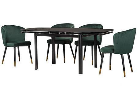 Стол Т-600 (Черный мат) 1200(+600)*800, фото 2