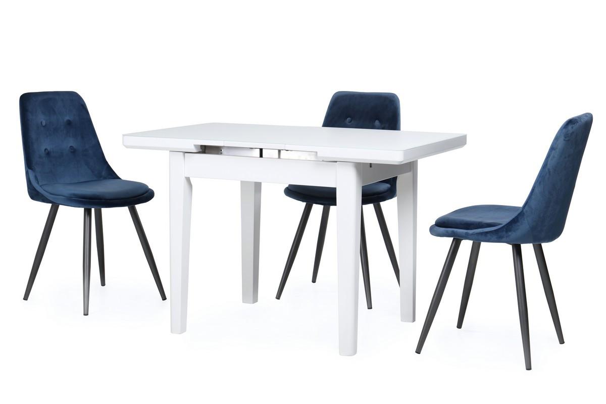 Стол ТМ-79 (Белый мат) 900(+250)*700