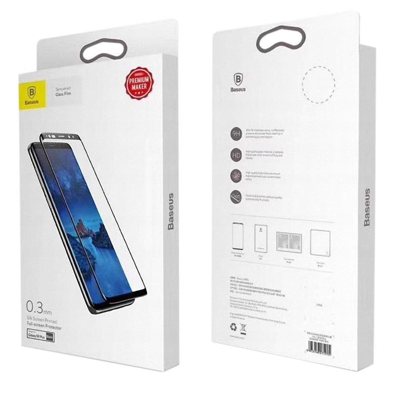 Защитное стекло Baseus Arc-Surface iPhone 7 Plus/8 Plus Black (0.3mm)