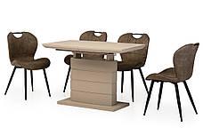 Стол ТММ-50-2 (Капучино мат) 1100(+400)*700, фото 3