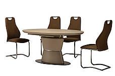 Стол ТМL-755 (Капучино мат) 1600(+400)*900, фото 3