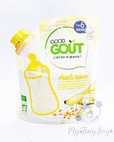 Безмолочная безглютеновая BIO каша от французской Премиум марки Good Goût для малышей уже с 6 мес.