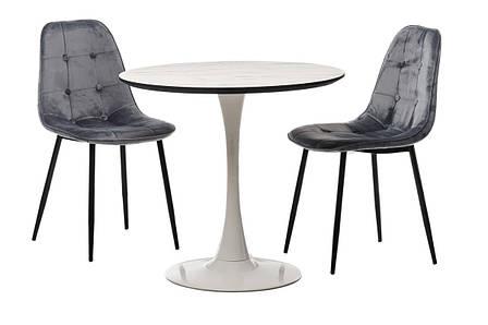 Стол Т-318 (Мрамор+Белый), фото 2