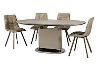 Стол ТММ-56 (Капучино мат) 1400(+400)*800