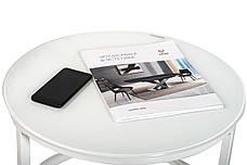 Комплект журнальных столов CS-25 (Белый), фото 2