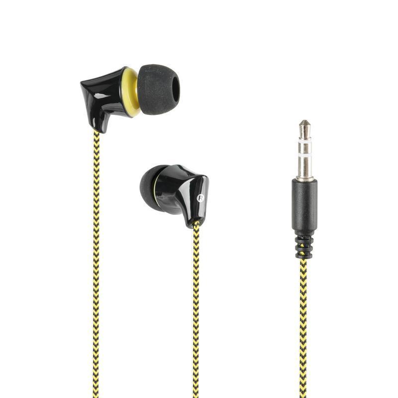 Наушники MP3 Gorsun GS-A340 Black/Yellow