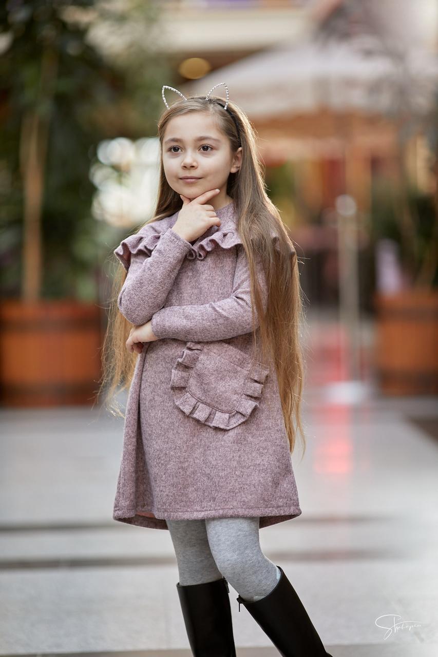 Детское платье для девочки Suzie Украина ПЛ-57917 Пудра
