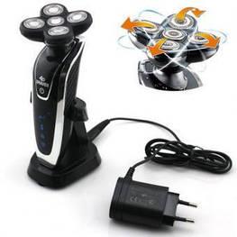 Електробритва Gemei GM-8030 сухе і вологе гоління