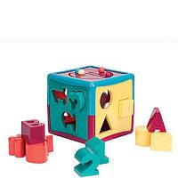 Развивающая игрушка сортер Умный куб