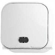 Выключатель  EVA с подсветкой белый IP 20