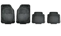 Автоковрики салона универсальные резиновые 4 шт car protect universal ALCA