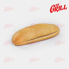 Булочка для американского хот дога с разрезом белая