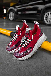 Женские кроссовки Cross Chainer Red (красные)