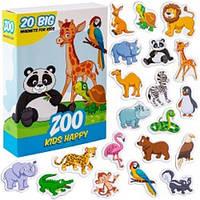 "Магнитный набор ""Kids Happy Zoo"" ML4031-01"