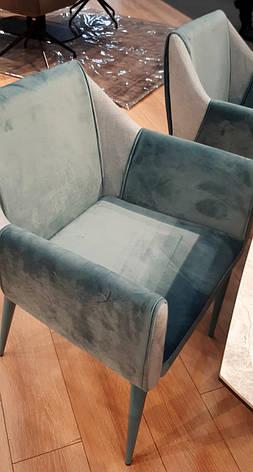 Кресло Nicolas Toscana , бирюза, фото 2