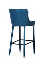 Барний стілець В-120 (тканина, Синій), фото 3