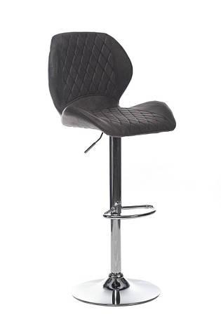 Барный стул В-11 (нубук, Серый), фото 2