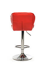 Барний стілець В-70 (еко.шкіра, Червоний), фото 3