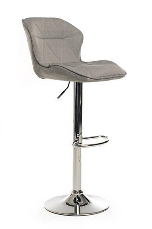 Барный стул В-70 (ткань, Серый), фото 2