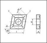 Пластина т/с сменная 05114-190612 Т5К10;Т15К6;ВК8;ТТ10К8Б;ТТ7К12, фото 3