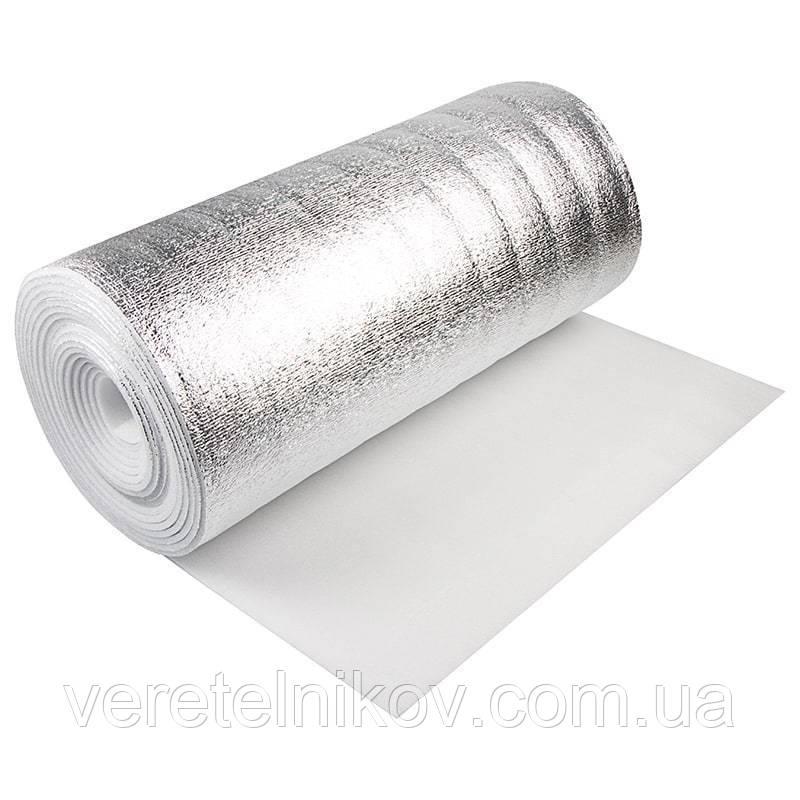 АЛЮФОМ®НПЭ C теплоизоляционный фольгированный материал 5 мм.