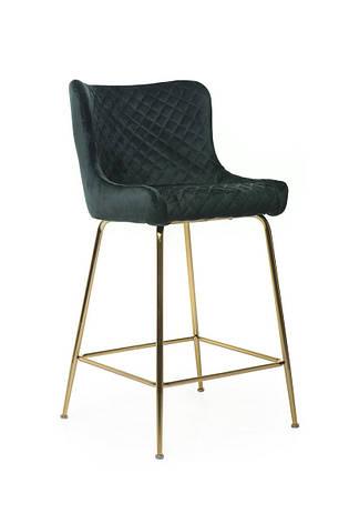 Барный стул В-120-2 (ткань, Изумрудный Вельвет), фото 2
