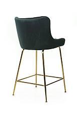 Барный стул В-120-2 (ткань, Изумрудный Вельвет), фото 3